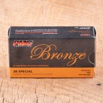 PMC Bronze 38 Special Ammunition - 1000 Rounds of 132 Grain FMJ