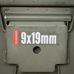 Ammo Can Label - 1 Count - 9x19mm
