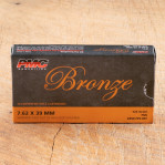 PMC Bronze 7.62x39 Ammunition - 500 Rounds of 123 Grain FMJ