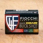 "Fiocchi High Velocity 12 Gauge Ammunition - 250 Rounds of 2-3/4"" 00 Buckshot"