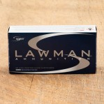 Speer Lawman 9mm Luger Ammunition - 50 Rounds of 147 Grain TMJ