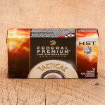 Federal Premium Law Enforcement 40 S&W Ammunition - 1000 Rounds 165 Grain HST HP