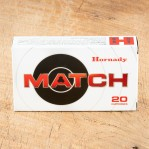 Hornady Match 308 Winchester Ammunition - 20 Rounds of 178 Grain BTHP
