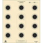 AR-5/10 Paper Targets - Heavy Paper - 100 Count