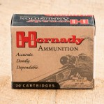 Hornady Custom 40 S&W Ammunition - 20 Rounds of 180 Grain JHP