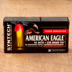 Federal Syntech 45 ACP Ammunition - 500 Rounds of 230 Grain TSJ