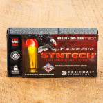Federal Syntech Action Pistol 40 S&W Ammunition - 50 Rounds of 205 Grain Total Synthetic Jacket