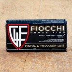 Fiocchi 380 ACP Ammunition - 50 Rounds of 95 Grain FMJ