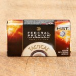 Federal Premium Law Enforcement 9mm Luger Ammunition - 50 Rounds of 147 Grain HST JHP