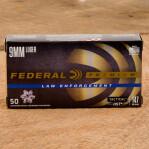 Federal Premium Law Enforcement 9mm Luger Ammunition - 50 Rounds of 147 Grain HST JHP
