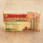 Barnes Vor-Tx 308 Winchester Ammunition - 20 Rounds of 168 Grain Tipped TSX-BT