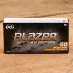 CCI Blazer Brass 45 ACP Ammunition - 1000 Rounds of 230 Grain FMJ