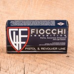 Fiocchi 9mm Luger Subsonic Ammunition - 50 Rounds of 158 Grain FMJ