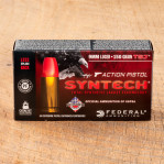 Federal American Eagle Syntech Action Pistol 9mm Ammunition - 50 Rounds of 150 Grain TSJ