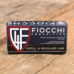 Fiocchi 9mm Luger Ammunition - 50 Rounds of 115 Grain FMJ