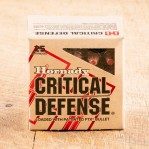 Hornady Critical Defense 38 Special Ammunition - 250 Rounds of +P 110 Grain FTX