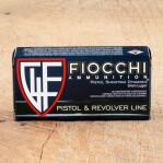 Fiocchi 9mm Luger Ammunition - 50 Rounds of 115 Grain JHP
