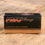 PMC Bronze 40 S&W Ammunition - 50 Rounds of 180 Grain FMJ-FP