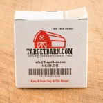 """Buff Target Pasters - 1000 Count - 7/8"""" Boxed Square Adhesive Pasters"""