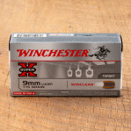 Winchester Super-X WinClean 9mm Luger Ammunition - 50 Rounds of 115 Grain BEB