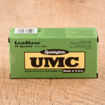 Remington UMC 38 Special Ammunition - 50 Rounds of 125 Grain FNEB