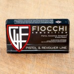 Fiocchi 40 S&W Ammunition - 50 Rounds of 180 Grain FMJ