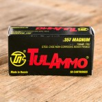 Tula 357 Magnum Ammunition - 50 Rounds of 158 Grain FMJ