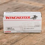 Winchester 357 SIG Ammunition - 50 Rounds of 125 Grain FMJ