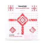 Redfield Style 12 Square Inch Diamond Pattern Sight-In Target - Precision Zeroing  - Champion - 100 Count