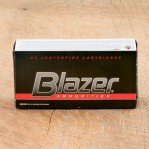 Blazer 38 Special Ammunition - 50 Rounds of +P 158 Grain TMJ