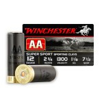 "Winchester AA Super Sport 12 Gauge Ammunition - 25 Rounds of 2-3/4"" 1-1/8 oz. #71/2 Shot"