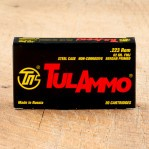 Tula 223 Remington Ammunition - 20 Rounds of 62 Grain FMJ