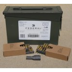 Federal 5.56x45 Ammo Can - 420 Rounds of 62 Grain FMJ XM855