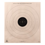 B-8 (P) Paper Targets - 25 Yd Timed & Rapid Fire Pistol - 100 Count