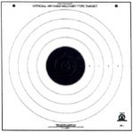 SR-1 Paper Targets - 100 Yd High Power Rifle - 100 Count