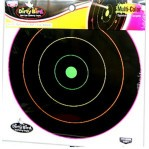 "Birchwood Casey Dirty Bird Multi-Color Targets - 10 Reactive Targets - 12"" Bullseye"