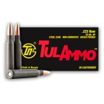 Tula 223 Remington Ammunition - 1000 Rounds of 75 Grain HP