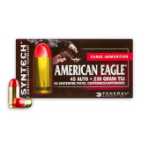Image of Federal Syntech 45 ACP Ammunition - 500 Rounds of 230 Grain TSJ