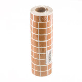 "Image of Tan Target Pasters - 40000 Count - 7/8"" Unboxed Square Adhesive Pasters"
