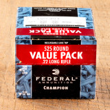 Image of Federal Champion 22 LR Ammunition - 5250 Rounds of 36 Grain CPHP