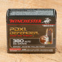 Winchester Bonded PDX1 Defender 380 ACP Ammunition - 20 Rounds of 95 Grain JHP