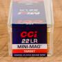 CCI Mini-Mag 22 LR Ammunition - 100 Rounds of 40 Grain CPRN