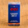 CCI Standard Velocity 22 LR Ammunition - 500 Rounds of 40 Grain LRN