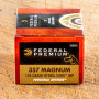 Federal Premium Personal Defense 357 Magnum Ammunition - 20 Rounds of 158 Grain Hydra-Shok JHP