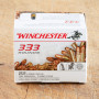 Winchester 22 LR Ammunition - 333 Rounds of 36 Grain CPHP